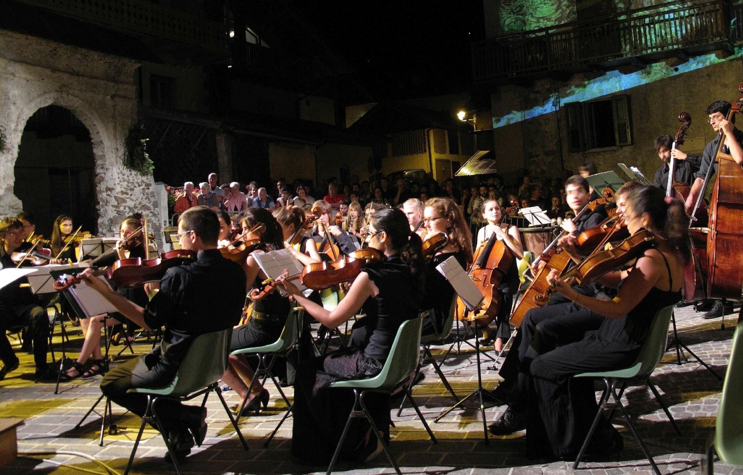 Concerti e serate negli scenari più spettacolari