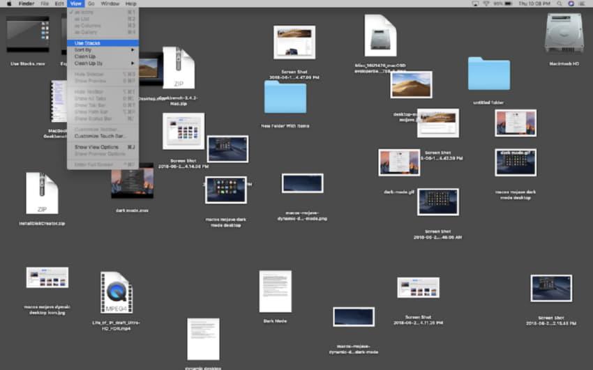 Che disordine sul desktop!